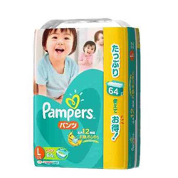 pampers pants L 64