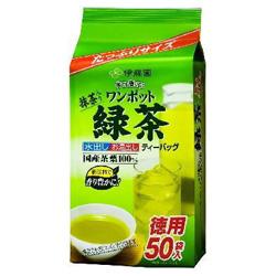 伊藤園 緑茶 ティーバッグ